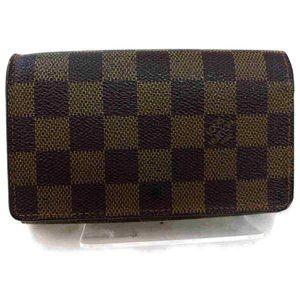 Auth Louis Vuitton Portefeuille Tresor #7087L11